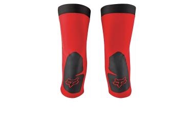 genouilleres fox warmers rouge