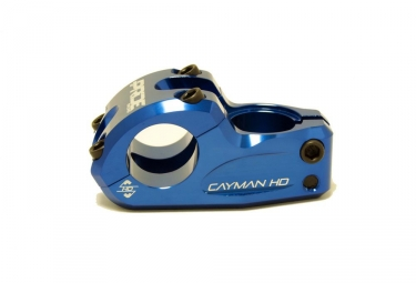 potence top load pride cayman hd diametre cintre 31 8mm bleu