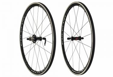 paire de roues fulcrum racing quattro lg cx corps campagnolo noir