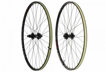 paire de roues asterion sport xc 29 tl ready boost 15x110 12x148mm corps sram xd noir