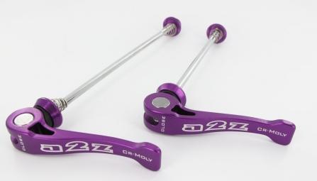 a2z serrages rapides axe cromo violet