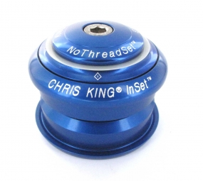 chris king jeu de direction semi integre 1 1 8 bleu