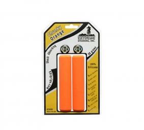 esi paire de grips chunky silicone orange 32mm
