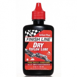 finish line lubrifiant sec au teflon 60ml
