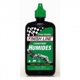 finish line lubrifiant cross country humides 60ml
