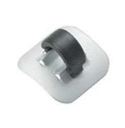 jagwire clip durite adhesif pour cadre x1 argent