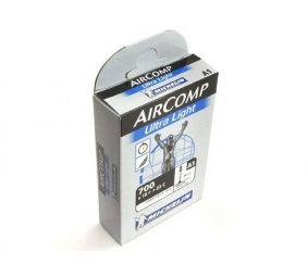 michelin chambre a air air comp ultralight 700 x 18 23 valve 60 mm