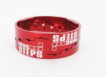 msc entretoise de direction ajustable rouge 12 5 14 15 5 17 18 5 mm