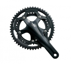 shimano pedalier 105 5700 170 mm 52 x 39 noir