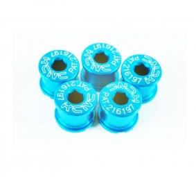 kcnc kit 5 vis courtes bleu