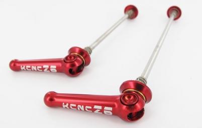 kcnc blocages de roues z6 route rouge
