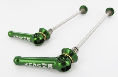 kcnc blocages de roues z6 route vert