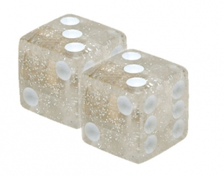 triktopz bouchons de valves x 2 des glitter