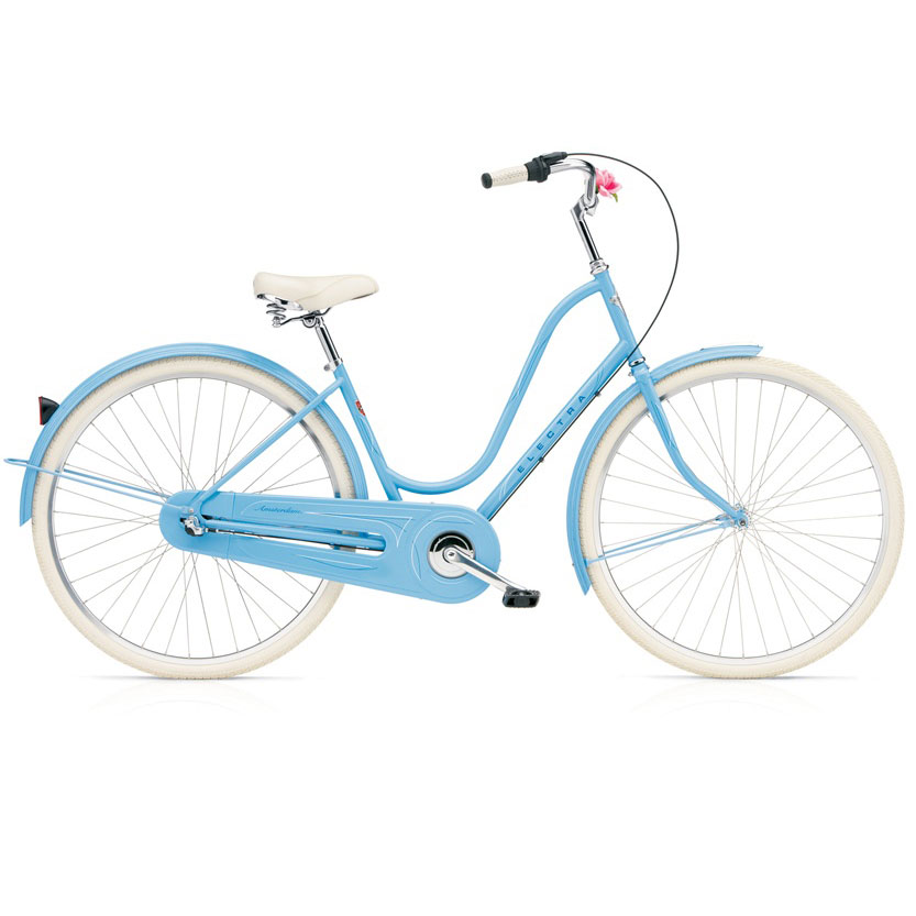 electra v lo complet beach cruiser amsterdam 3i powder blue femme alltricks. Black Bedroom Furniture Sets. Home Design Ideas