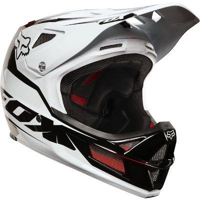 casque int gral fox rampage pro carbon blanc casque. Black Bedroom Furniture Sets. Home Design Ideas