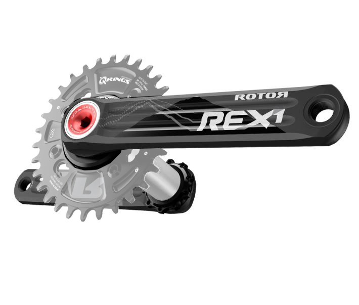 ROTOR Crankset REX 1.1 Mono Without Chainring BB30 76mm BCD - ALLTRICKS