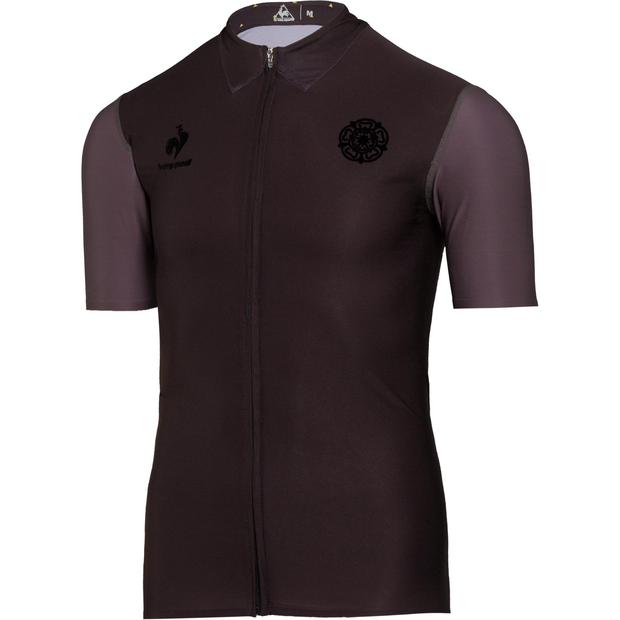 le coq sportif maillot premium yorshire tour de france noir. Black Bedroom Furniture Sets. Home Design Ideas