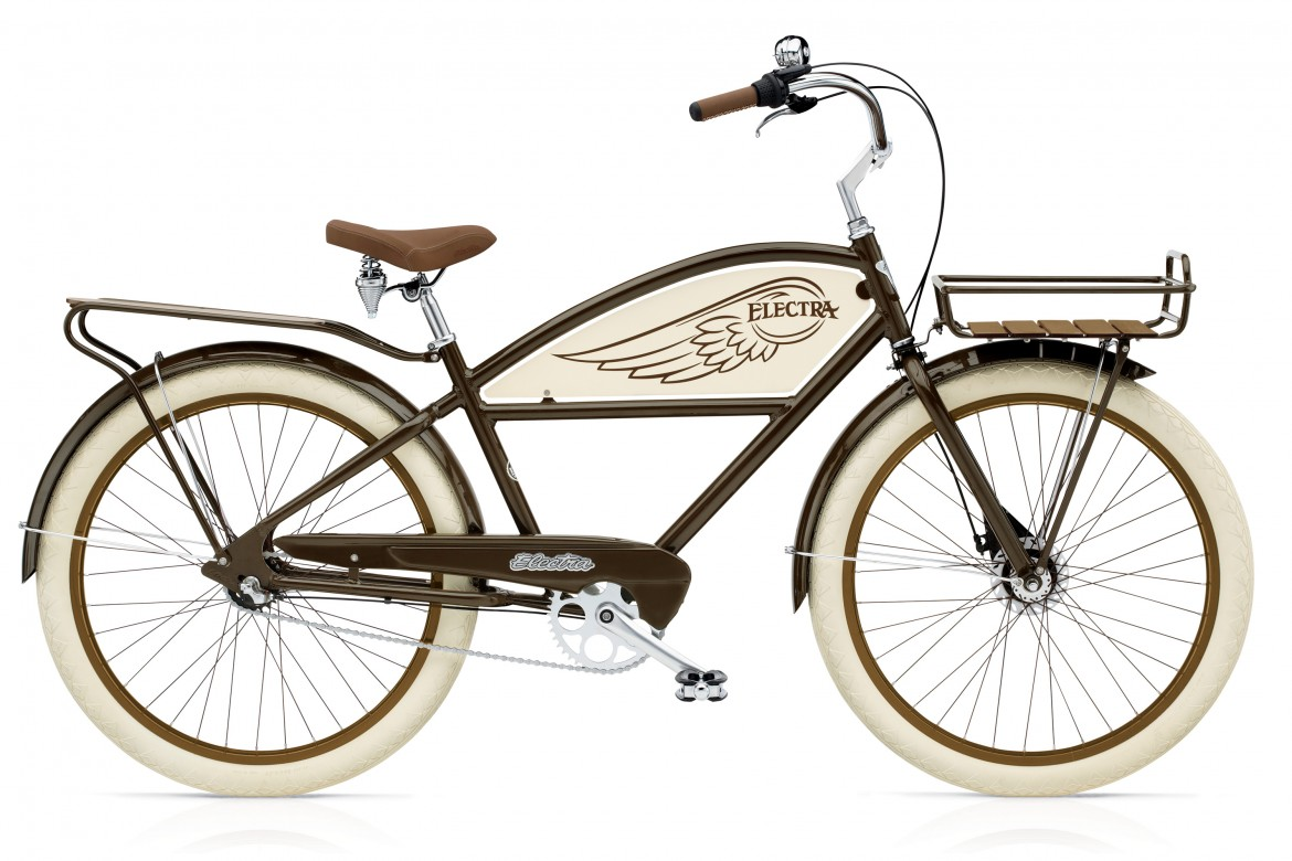 electra velo beach cruiser delivery 3i brown men s alltricks. Black Bedroom Furniture Sets. Home Design Ideas