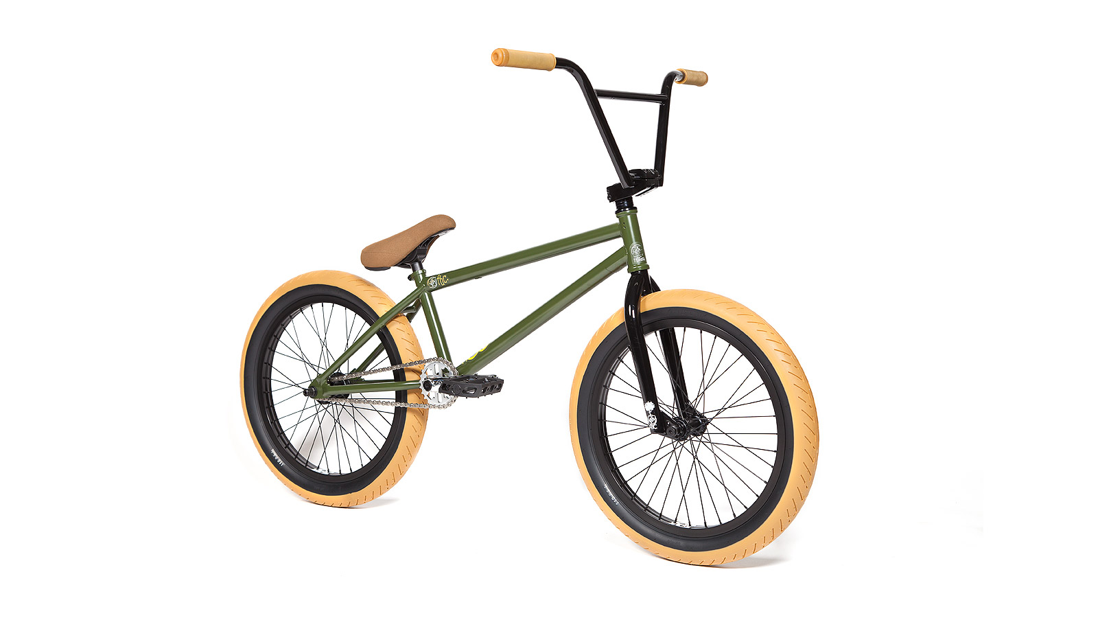 FIT 2015 BMX Complete Bike PK3 Dank Green - ALLTRICKS