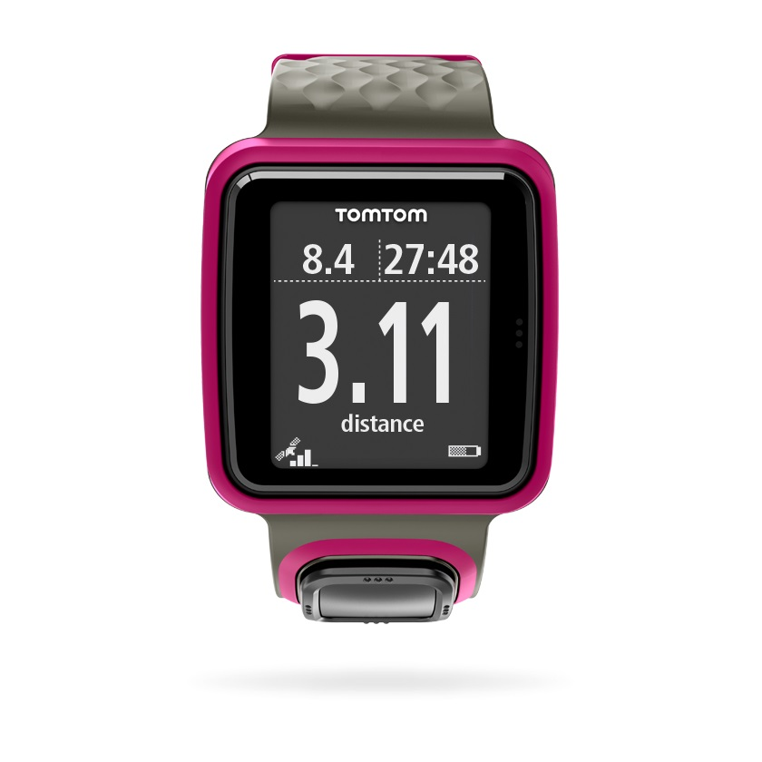 tomtom montre runner gps rose alltricks. Black Bedroom Furniture Sets. Home Design Ideas
