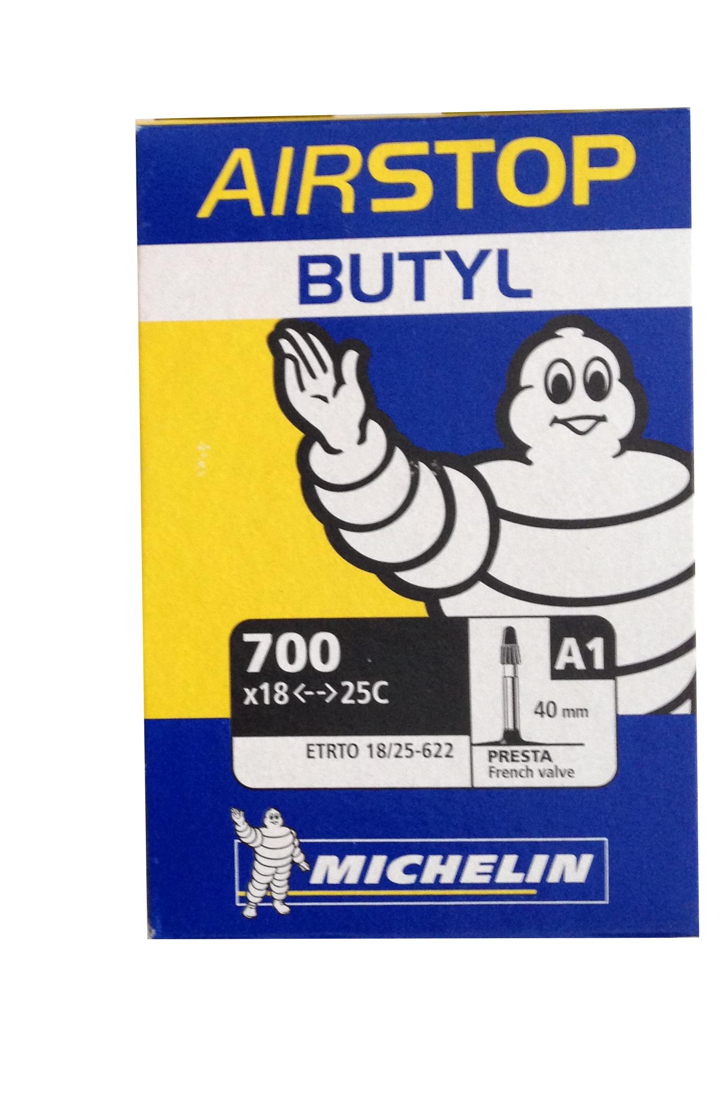 Michelin chambre air 700 x 18 25 a1 for Chambre a air michelin moto