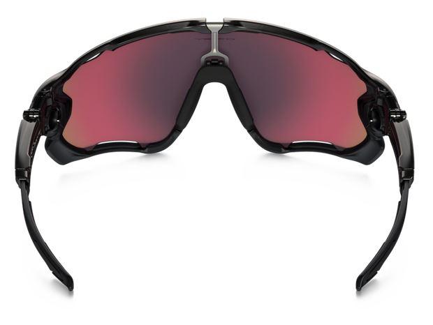 oakley paire de lunettes jawbreaker polarized black red. Black Bedroom Furniture Sets. Home Design Ideas