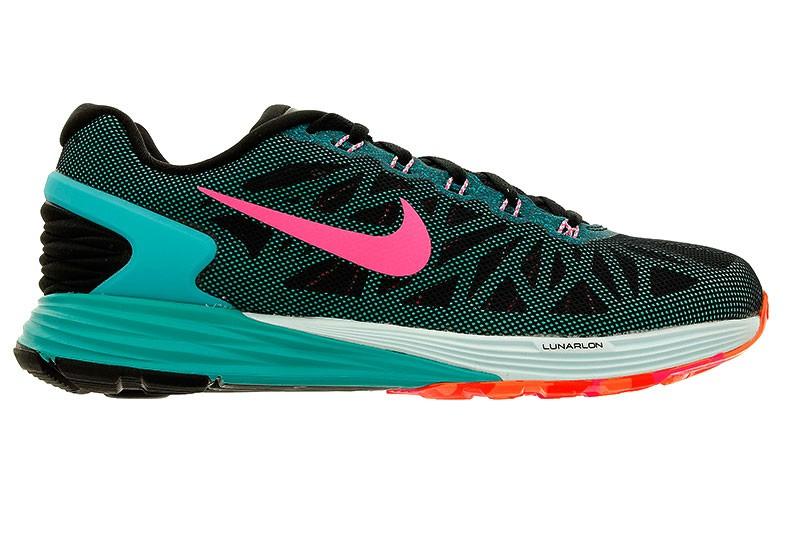 Nike Chaussures de Running LunarGlide 8 Noir Bleu