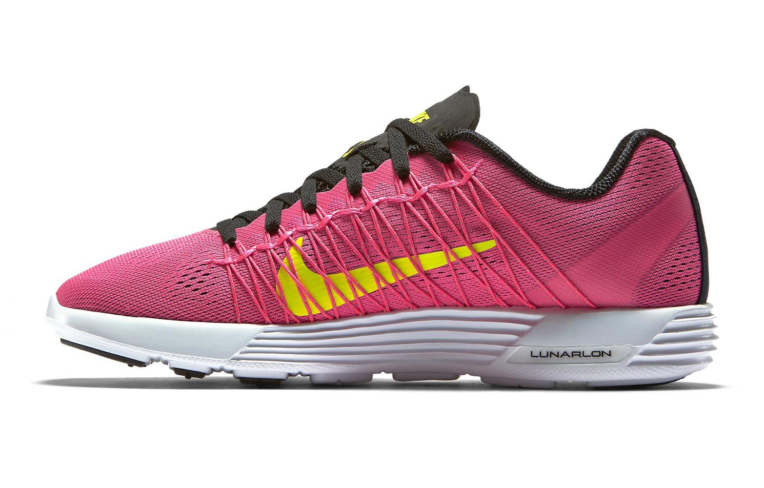 nike shoes lunaracer 3 pink yellow alltricks fr