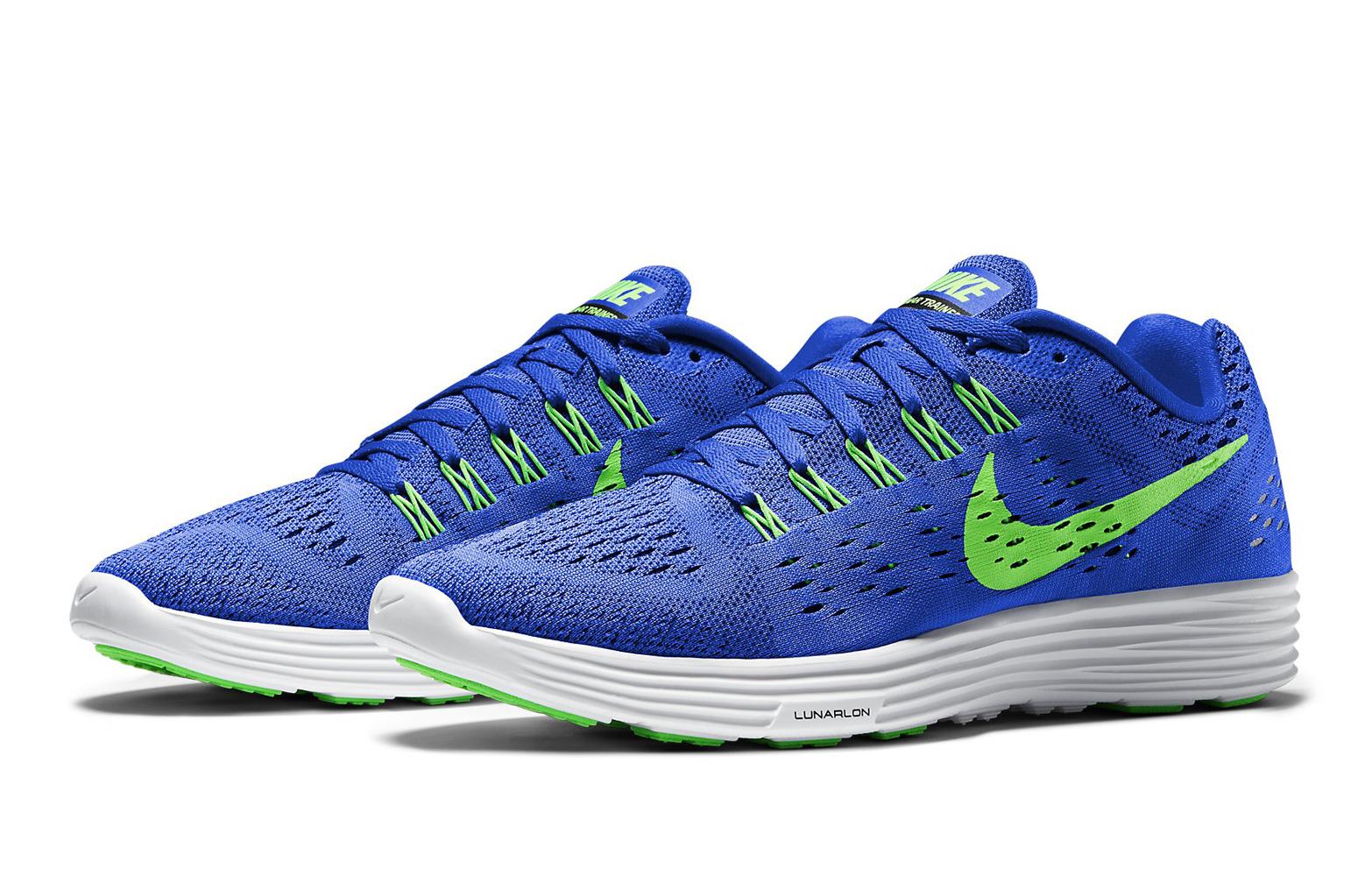 Zapatillas Nike Azules Y Verdes