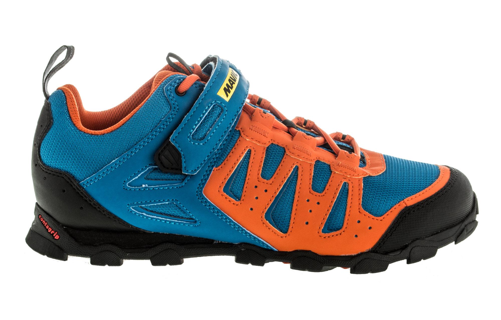 chaussures vtt mavic crossride elite 2016 bleu orange. Black Bedroom Furniture Sets. Home Design Ideas