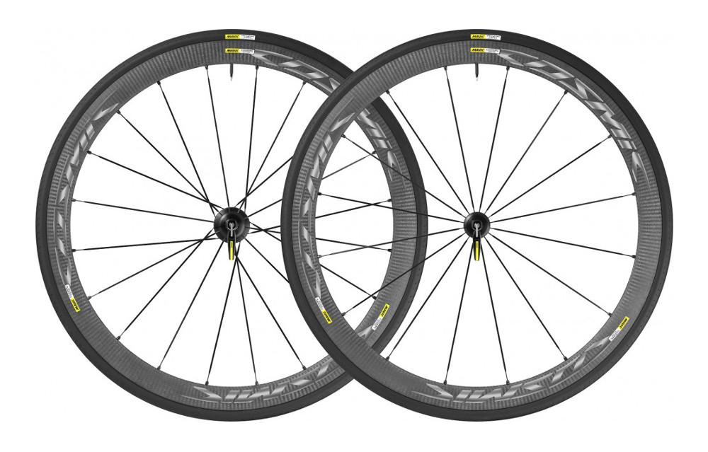mavic 2015 paire de roue cosmic carbone 40 elite version shimano pneu yksion pro alltricks. Black Bedroom Furniture Sets. Home Design Ideas
