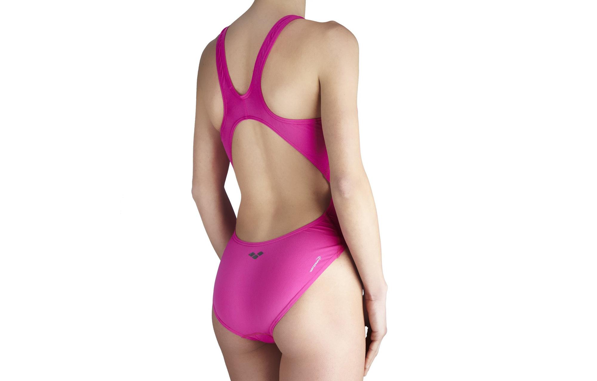 arena maillot de bain femme makinas highrose violet. Black Bedroom Furniture Sets. Home Design Ideas