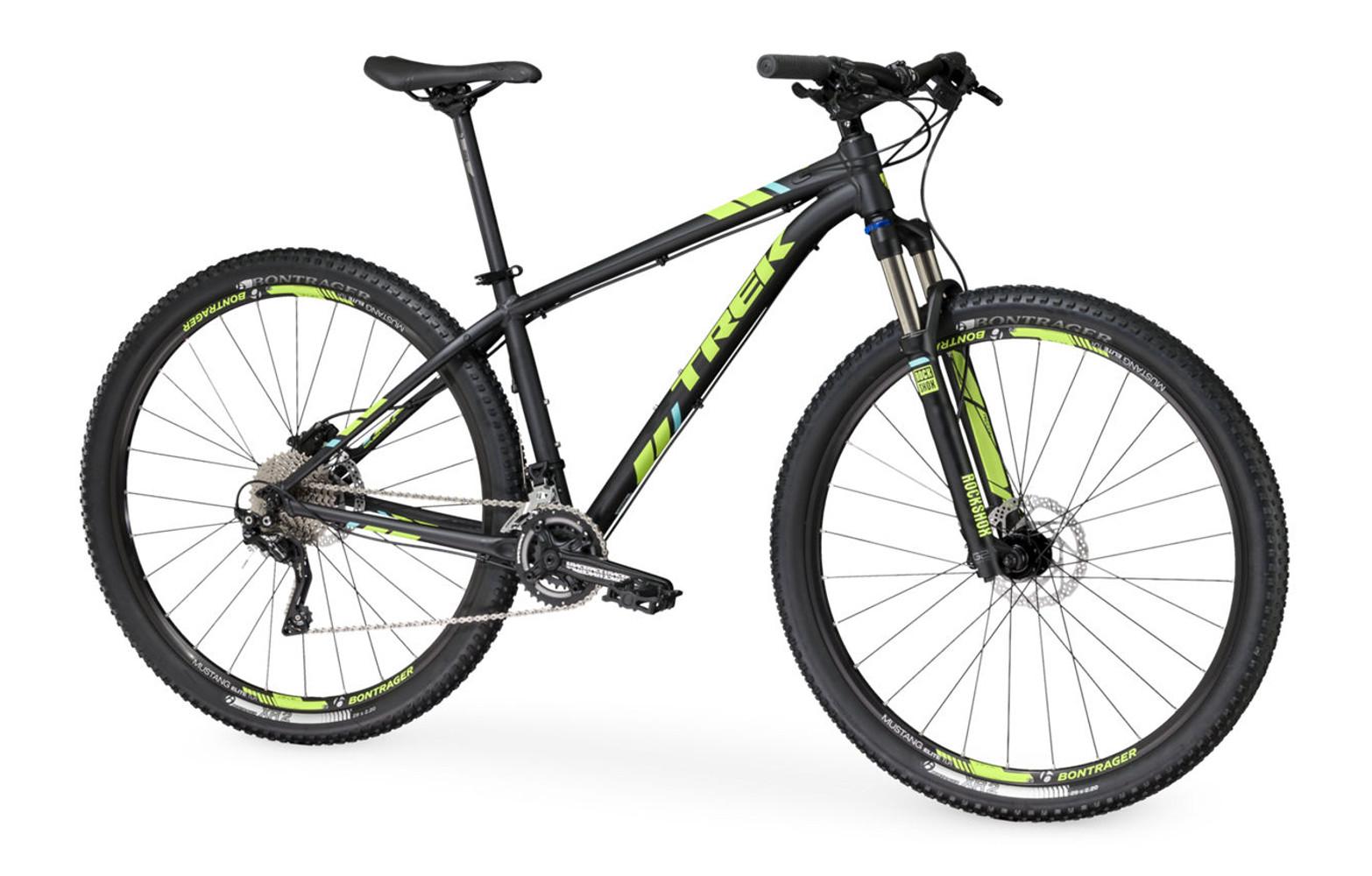 trek 2016 hardtail bike 27 5 x caliber 9 black. Black Bedroom Furniture Sets. Home Design Ideas