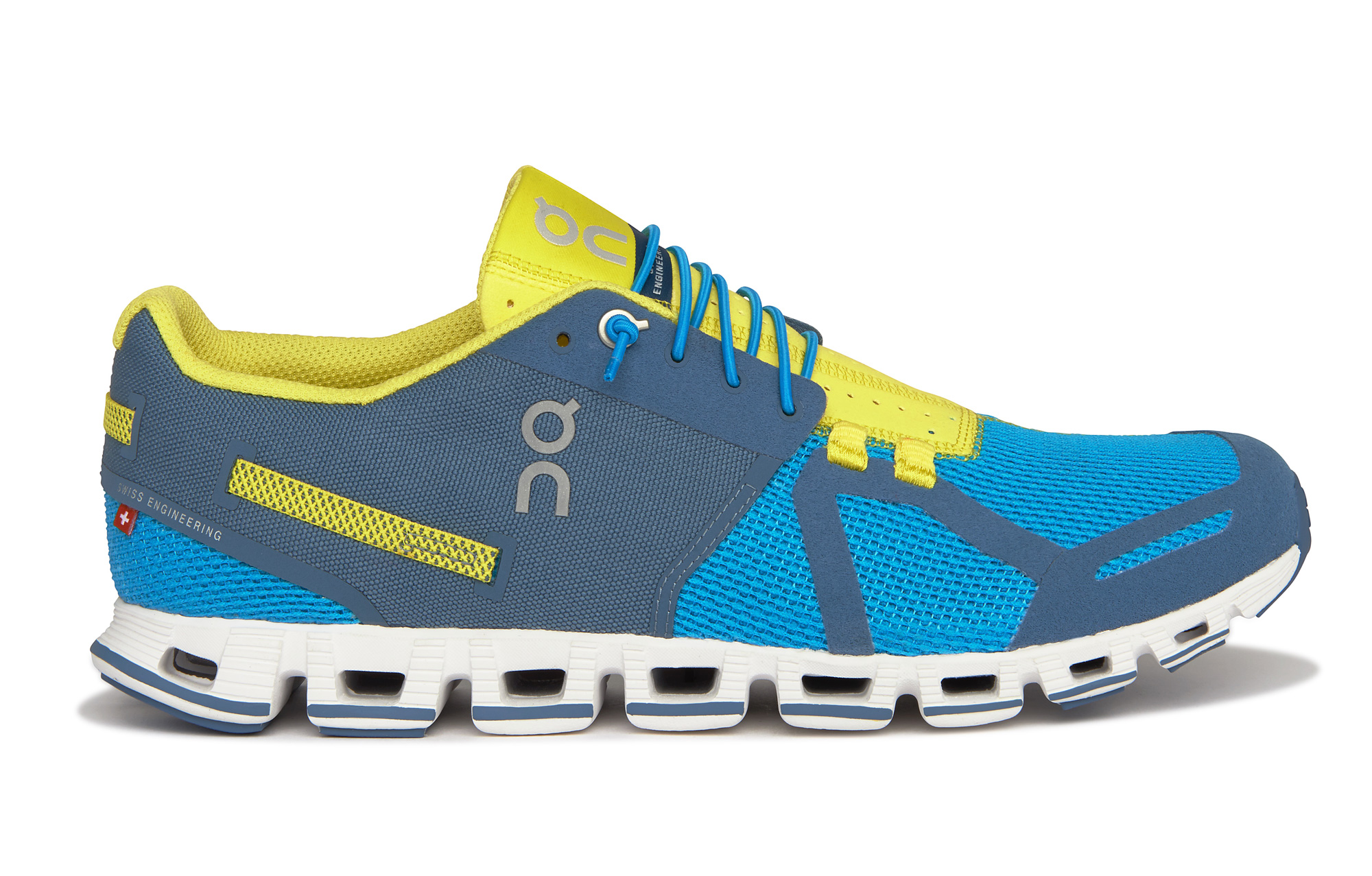 on running shoes cloud blue yellow men. Black Bedroom Furniture Sets. Home Design Ideas