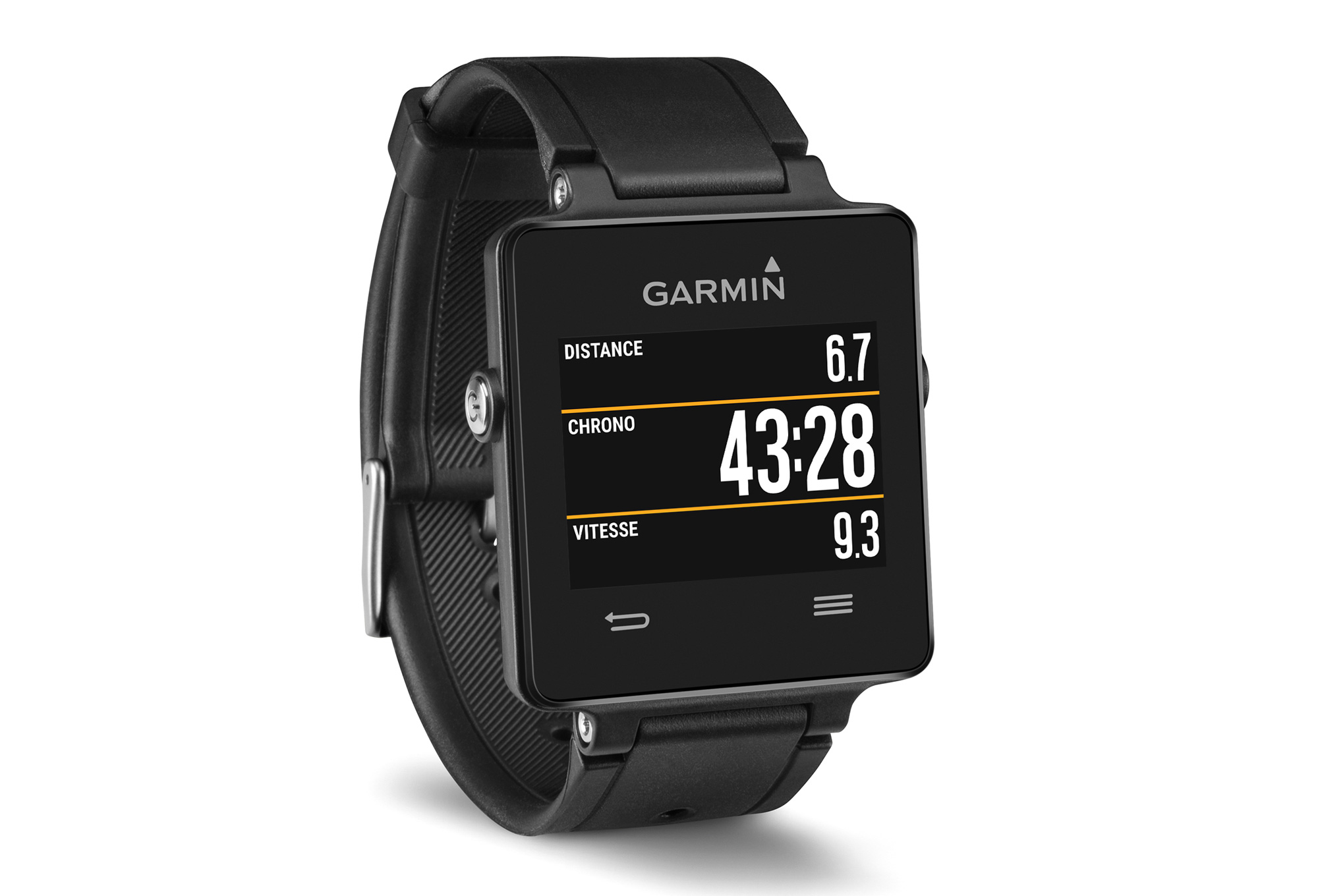 garmin montre vivoactive gps ceinture cardiaque noir. Black Bedroom Furniture Sets. Home Design Ideas