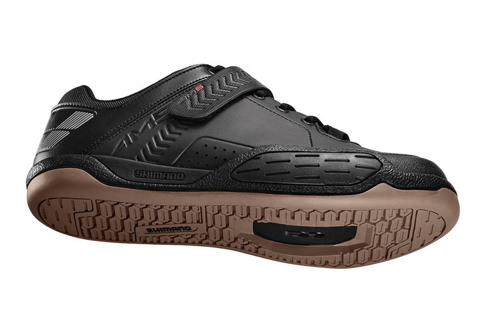 chaussures vtt shimano am5 2016 noir. Black Bedroom Furniture Sets. Home Design Ideas