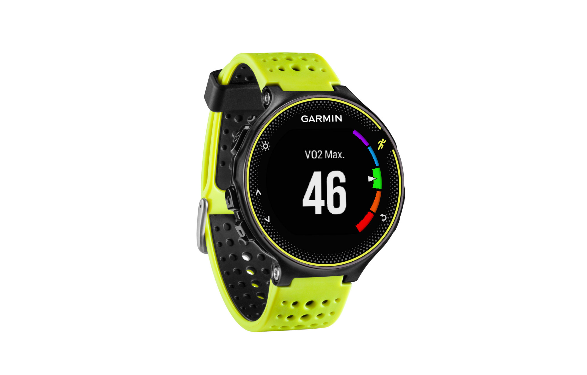 montre gps garmin forerunner 230 noir jaune. Black Bedroom Furniture Sets. Home Design Ideas