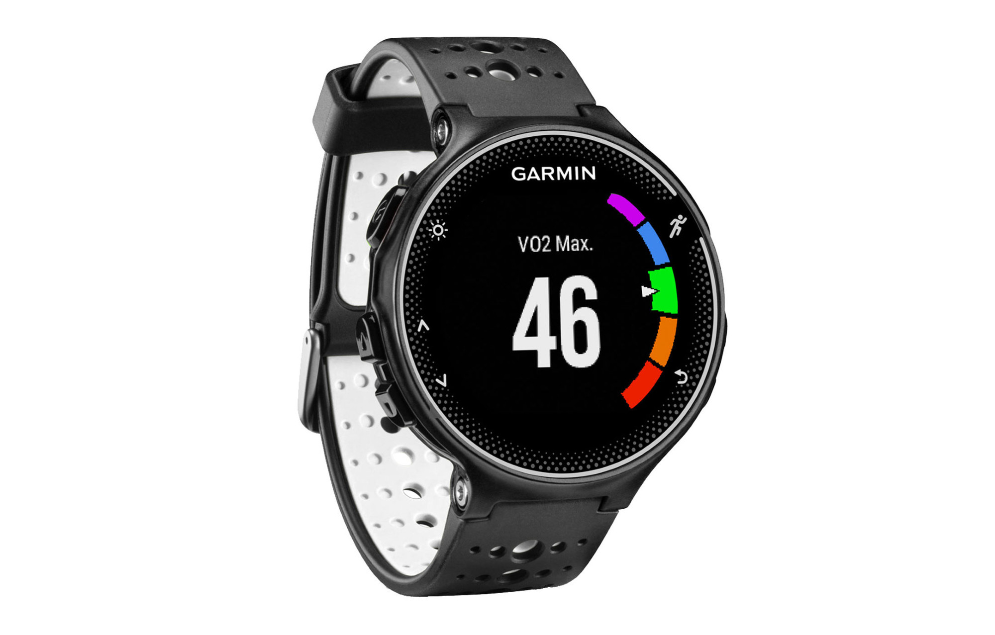 montre gps garmin forerunner 230 blanc noir. Black Bedroom Furniture Sets. Home Design Ideas
