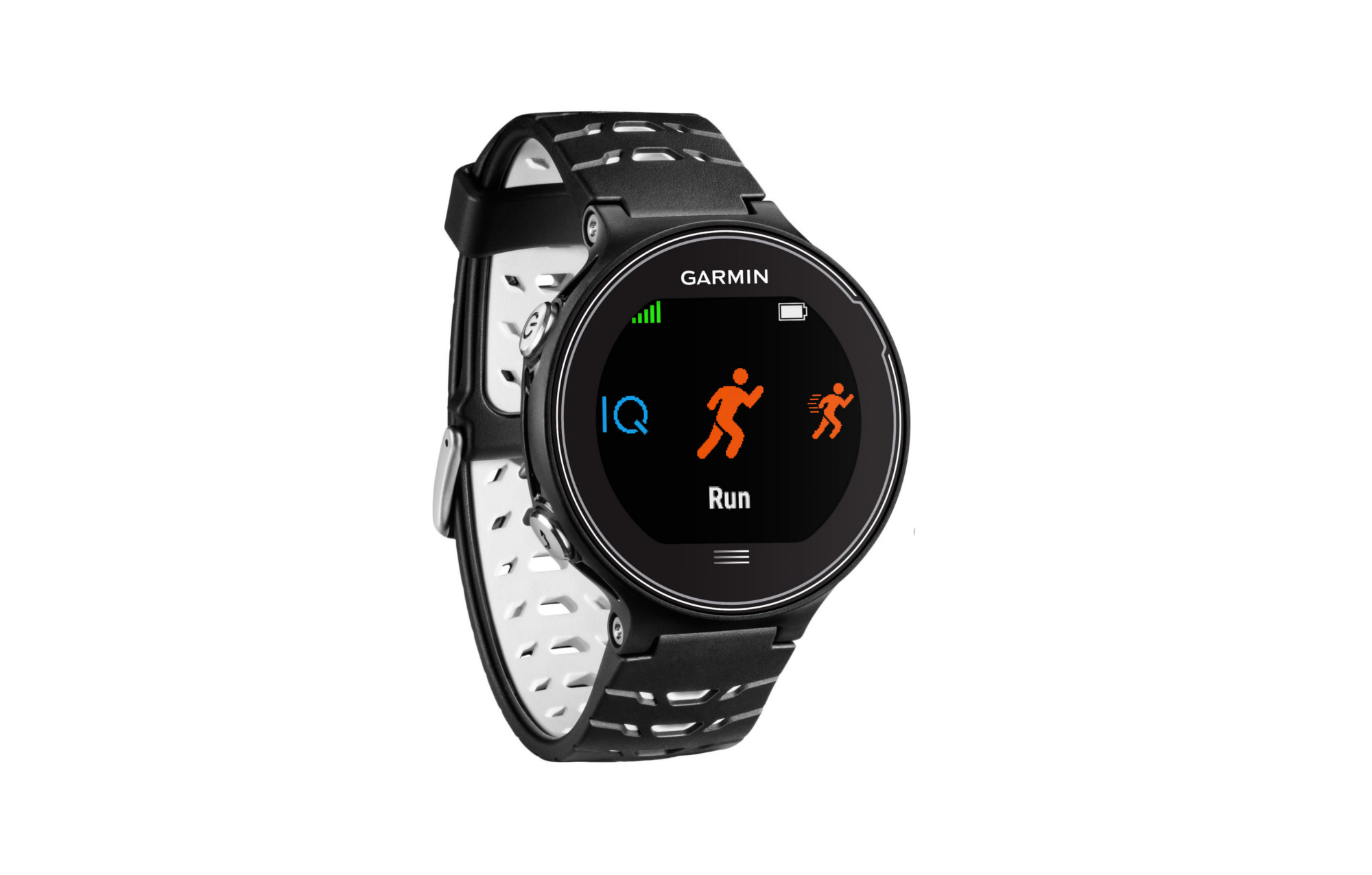 montre gps garmin forerunner 630 hrm run blanc noir. Black Bedroom Furniture Sets. Home Design Ideas