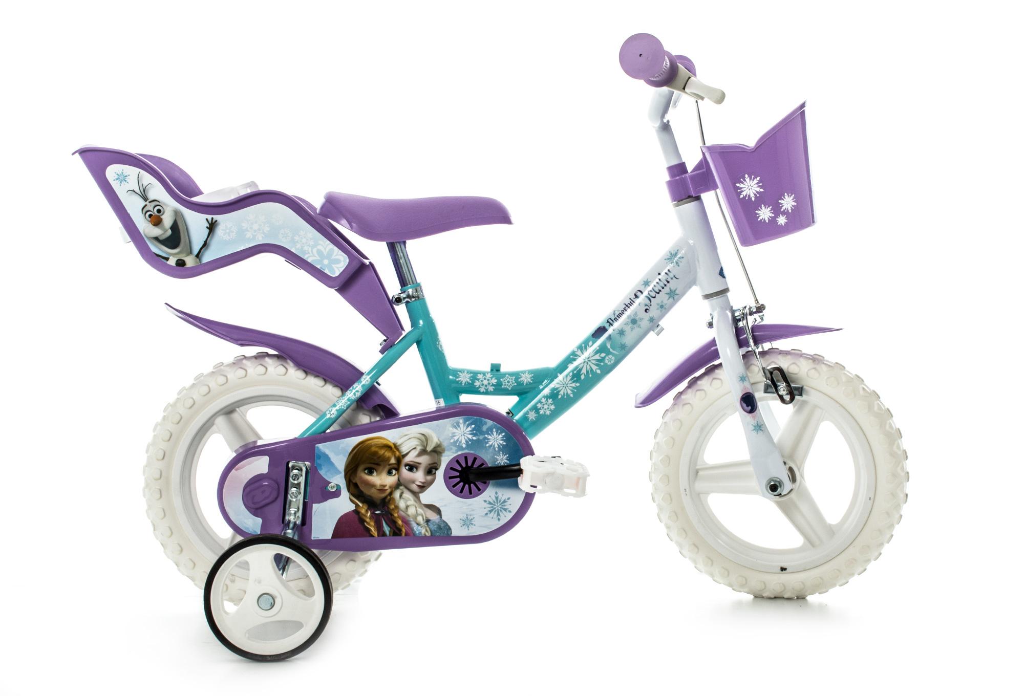 v lo enfant dino bikes reine des neiges 12 39 39 bleu. Black Bedroom Furniture Sets. Home Design Ideas