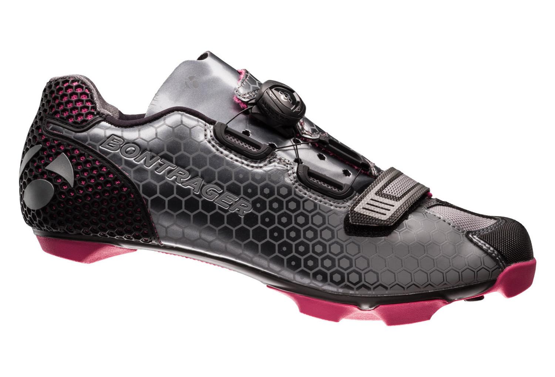 bontrager mtb shoes tinari grey pink alltricks