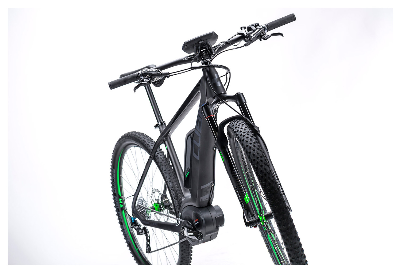cube 2016 e bike elite hybrid hpc sl 29 39 39 400 black green. Black Bedroom Furniture Sets. Home Design Ideas