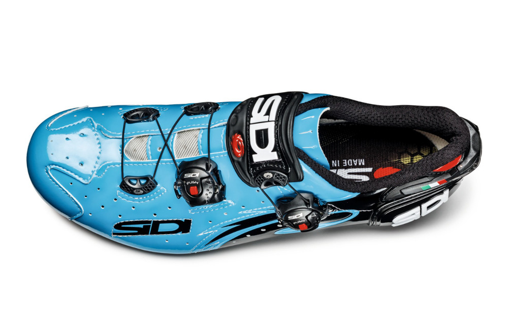 chaussures route sidi wire carbon 2016 chris froome bleu sky. Black Bedroom Furniture Sets. Home Design Ideas