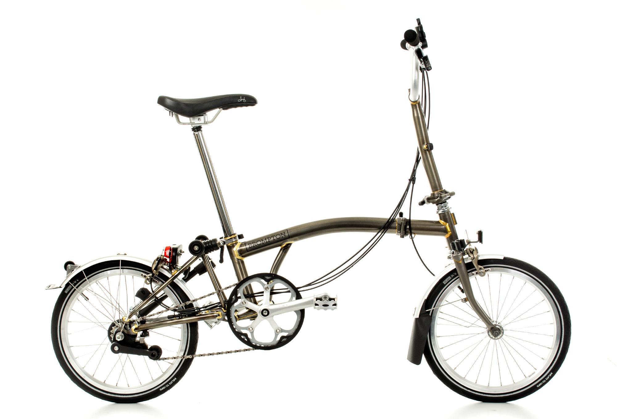 BROMPTON M6L Folding Bike, 6 Speed, Steel Alltricks.fr