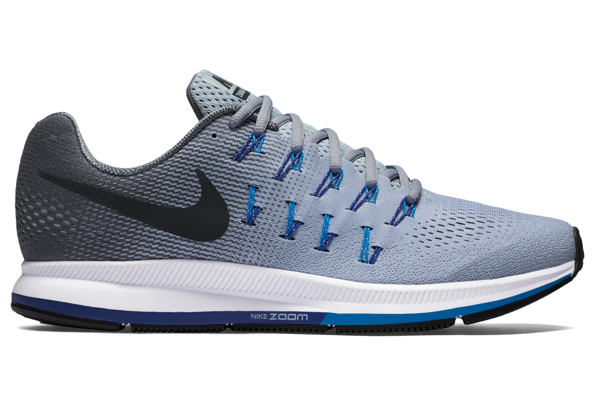 nike air zoom pegasus 33 gris homme. Black Bedroom Furniture Sets. Home Design Ideas