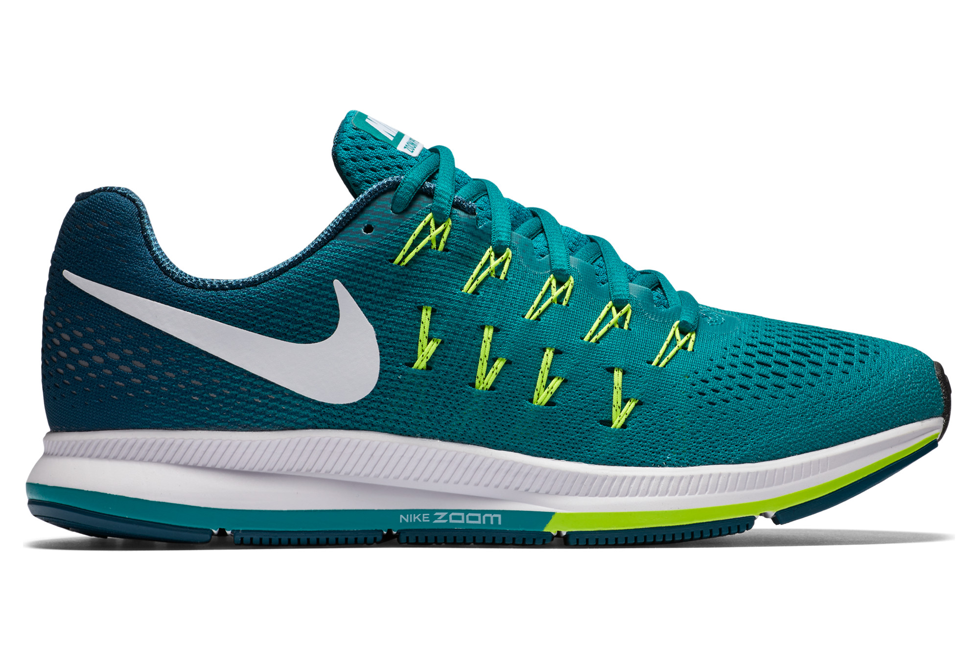 womens nike zoom pegasus 33 green gold