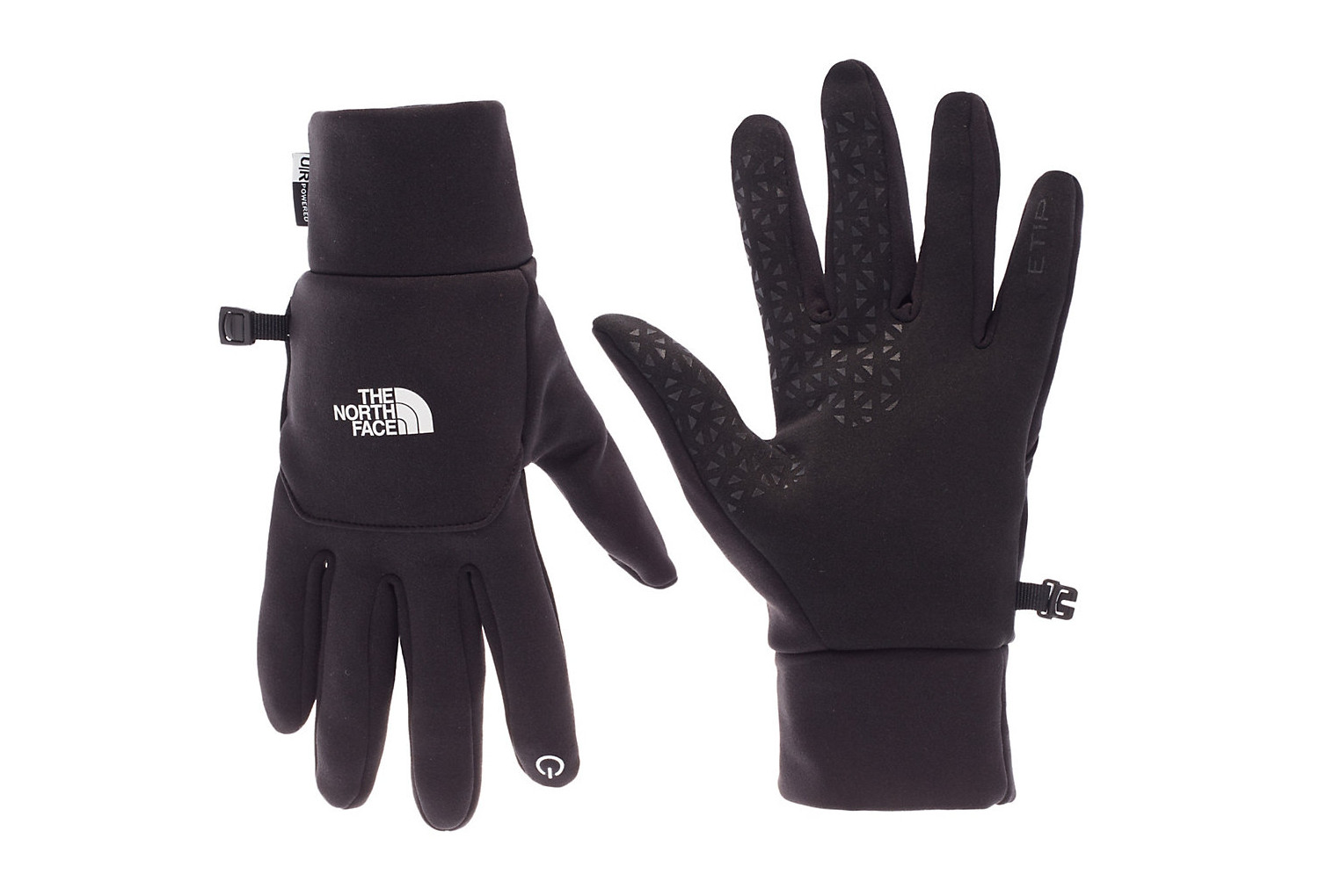 gants mixtes the north face etip gris fonc. Black Bedroom Furniture Sets. Home Design Ideas