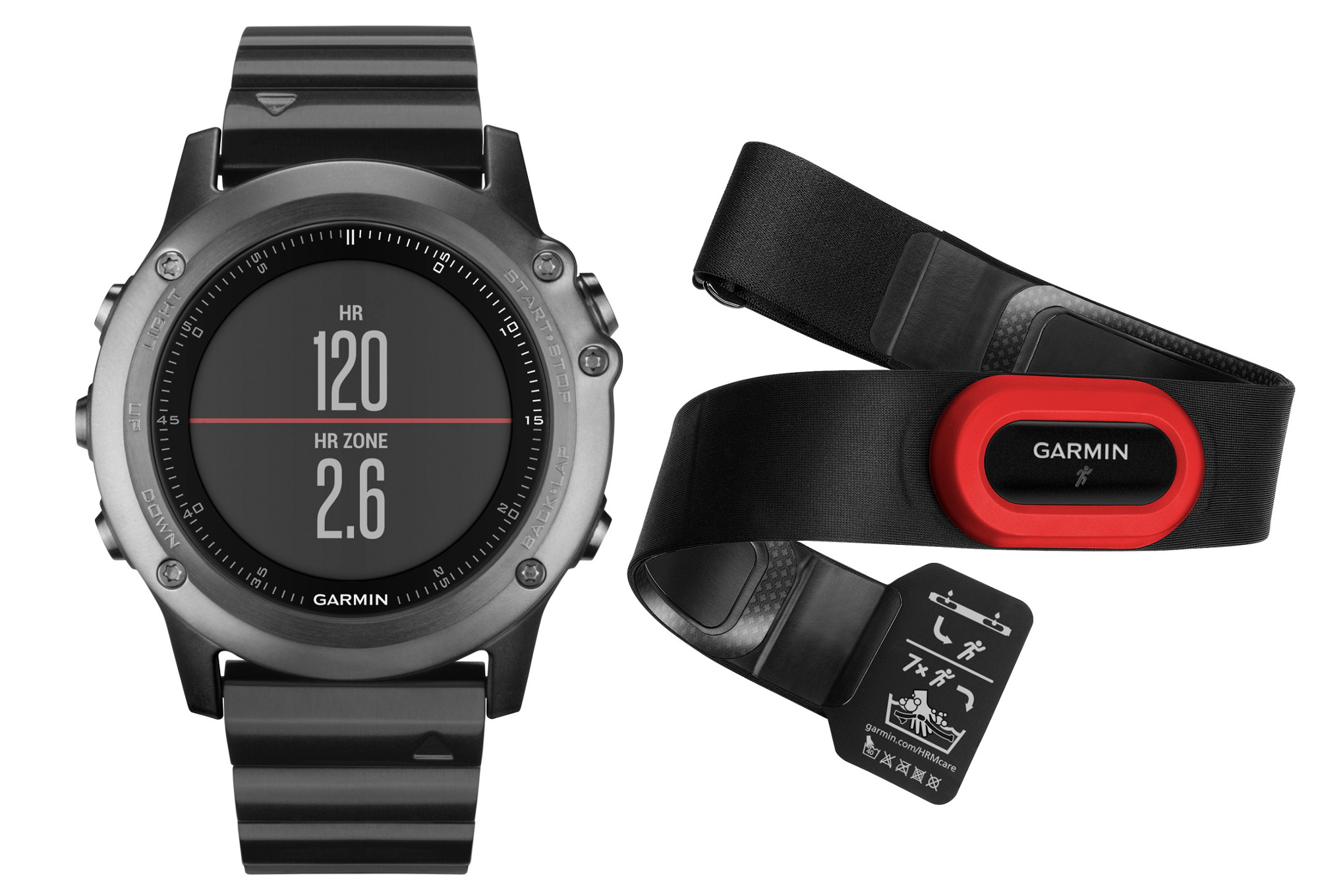 montre gps garmin fenix 3 performer hrm gris. Black Bedroom Furniture Sets. Home Design Ideas