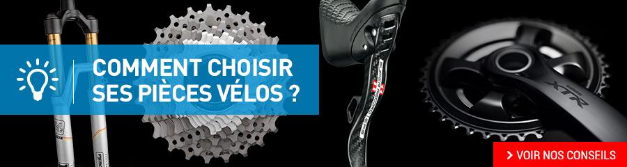Choisir ses pièces vélos