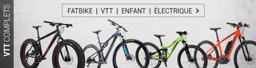 VTT, Fatbike, VTT enfant, VTT électrique